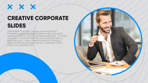 Creative Corporate Slides After Effects Template