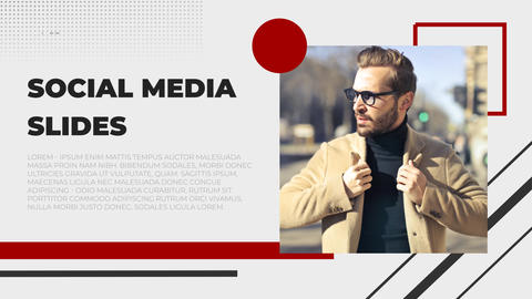 Social Media Slides After Effects Template