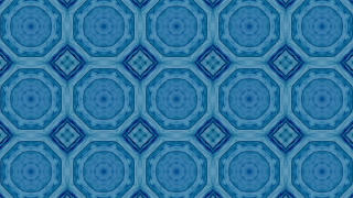 Mosaic fractal geometric kaleidoscopic Stock Video Footage