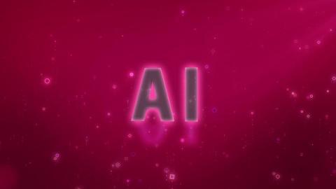SHA AI Image BG Pink Animation