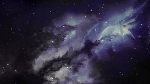 Flight Through Space 4 - forward Animation