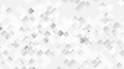 Abstract light grey moving squares animated background Animation