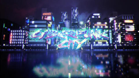 Cyber City Logo After Effects Template