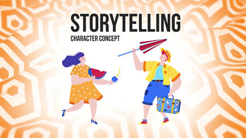 Storytelling - Flat Concept After Effects Template