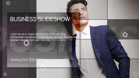 Business Slideshow After Effects Template