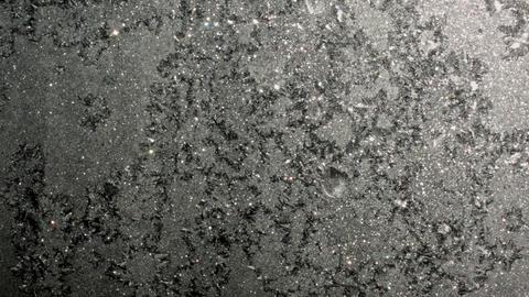frost on glass pattern frost on glass pattern frost on... Stock Video Footage