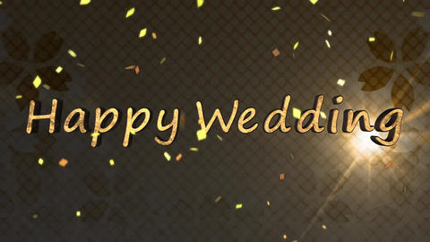 Happy Wedding CG動画