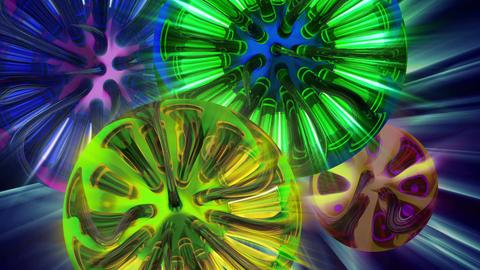 Macro Color 4K 02 Vj Loop Animation