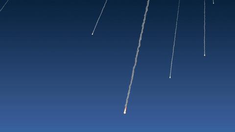 彗星群 meteor Animation