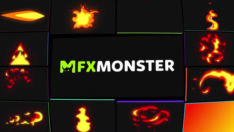 Flame Pack FXM After Effects Template
