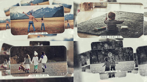 Fantastic Memories After Effects Template
