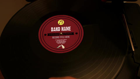 Vinyl Project Records After Effects Template