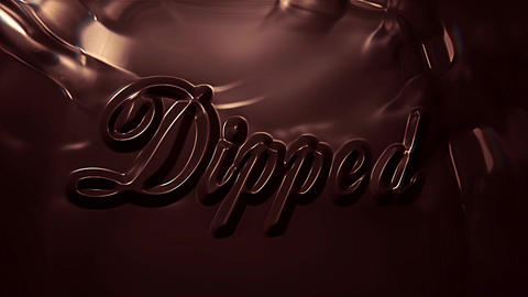 Dipped Title/ Logo Reveal After Effects Template