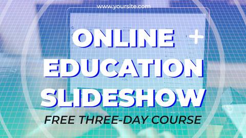 Online Education Slideshow Premiere Pro Template
