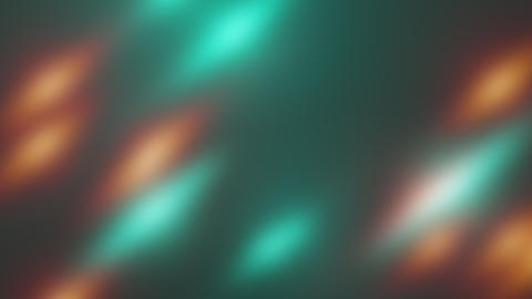 Abstract flying blurres bright particles in space, computer generated abstract Animation