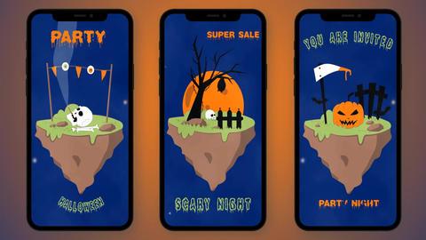 MOKA Halloween Stories After Effects Template