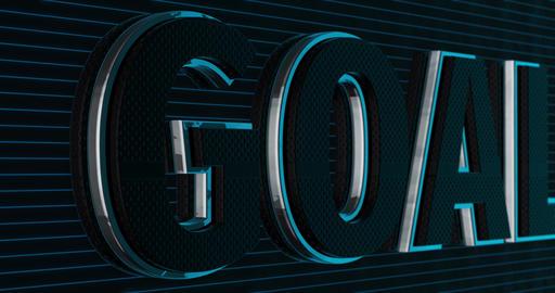 Goal. 3D Promotion Intro. Text Logo Animation