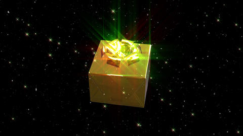 Christmas decoration gift loop animation Animation