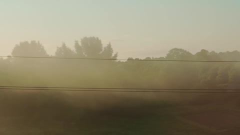 Transport, travel, road, railway, landscape, comnication, disasters, cataclysms Live Action