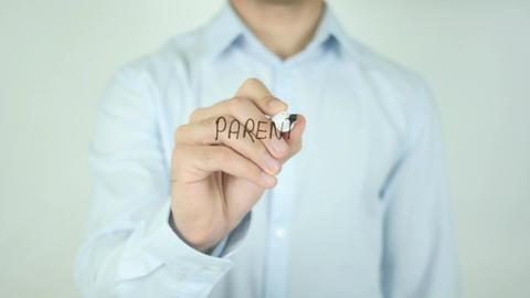 Parental Advisory, Writing On Transparent Screen Footage