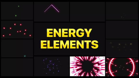 Energy Pack After Effects Template