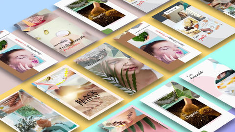 Instagram Stories: Skin Care After Effects Template