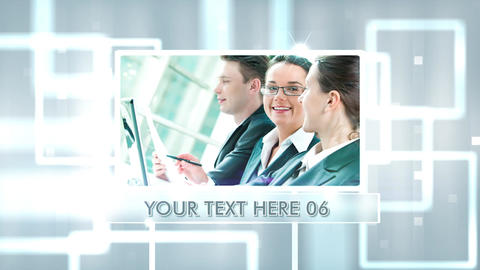 Corporate Panels Promo After Effects Template