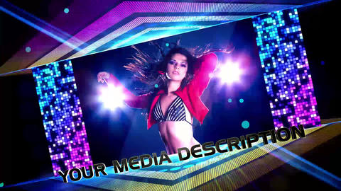 Dance Floor Promo After Effects Template