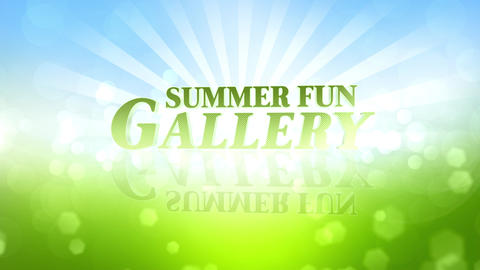 Summer Fun Gallery After Effects Template