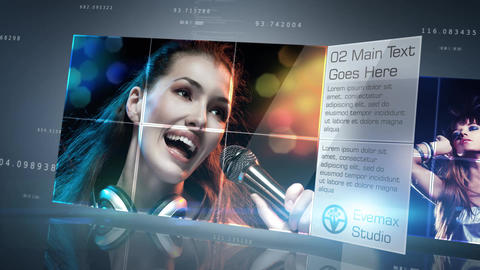 Stylish Corporate Presentation After Effects Template