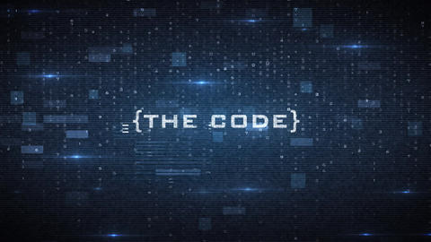 The Code Sci-fi Cinematic Trailer After Effects Template