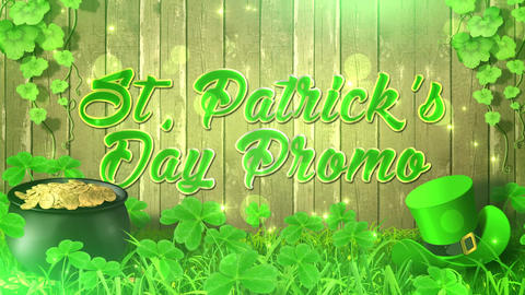 St Patrick's Day Promo After Effects Template