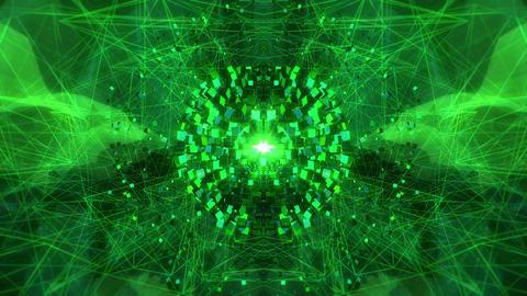 SHA Cube Abstract World Green CG動画