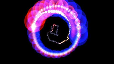 Digital Animation of a mystic Light, Stock Animation