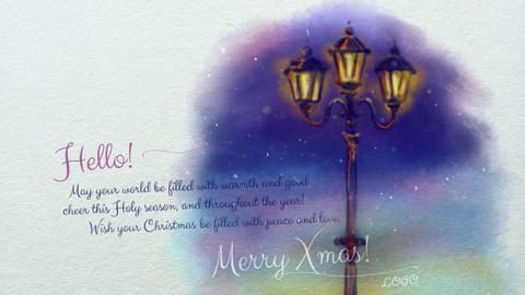 Watercolor Christmas Cards 0