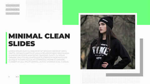 Minimal Clean Slides After Effects Template