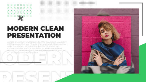 Modern Clean Presentation After Effects Template