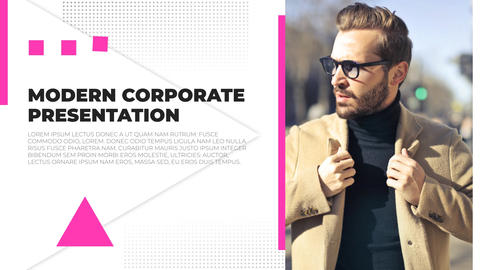 Modern Corporate Presentation After Effects Template