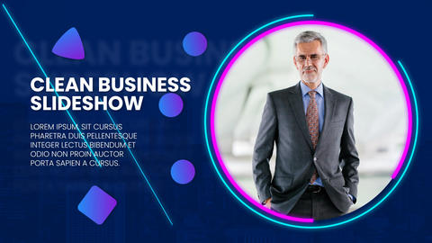 Clean Business Slideshow After Effects Template