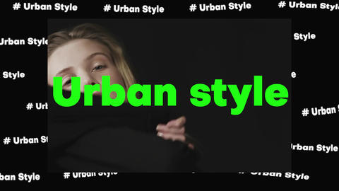 Fashion Urban Promo Plantilla de Apple Motion
