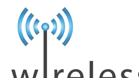 Advertising banner for a wireless network. Animation video for other commercial use Animation
