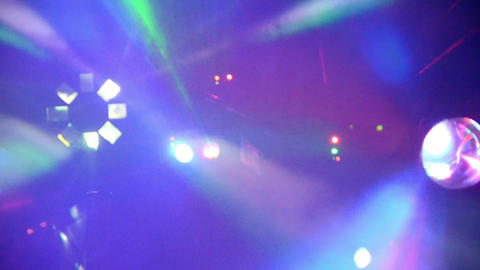 Stage Light in Night Club 4 Filmmaterial