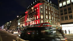Fortnum and Mason department store Piccadilly London UK Footage