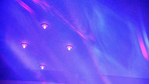 Stage Light in Night Club 9 Footage