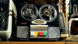 Vintage Audio Recorder Live Action