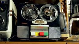 Vintage Audio Recorder Archivo