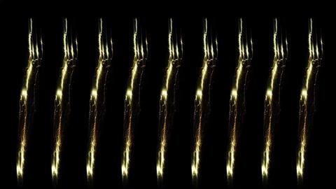 Digital Rendering Lighting Strike Electric Energy Video Animation