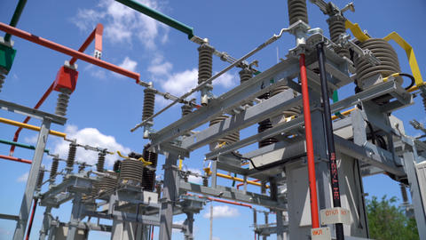 High Voltage Transformer Equipment Live Action