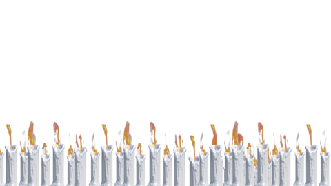 Candle light loop background animation Animation
