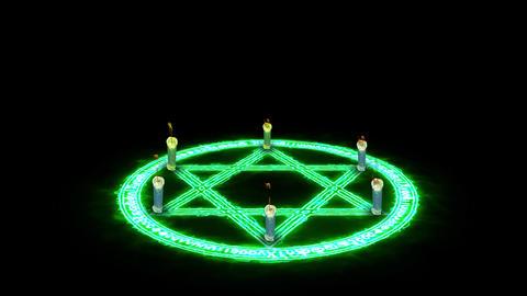 Magic circle light effect loop animation Animation